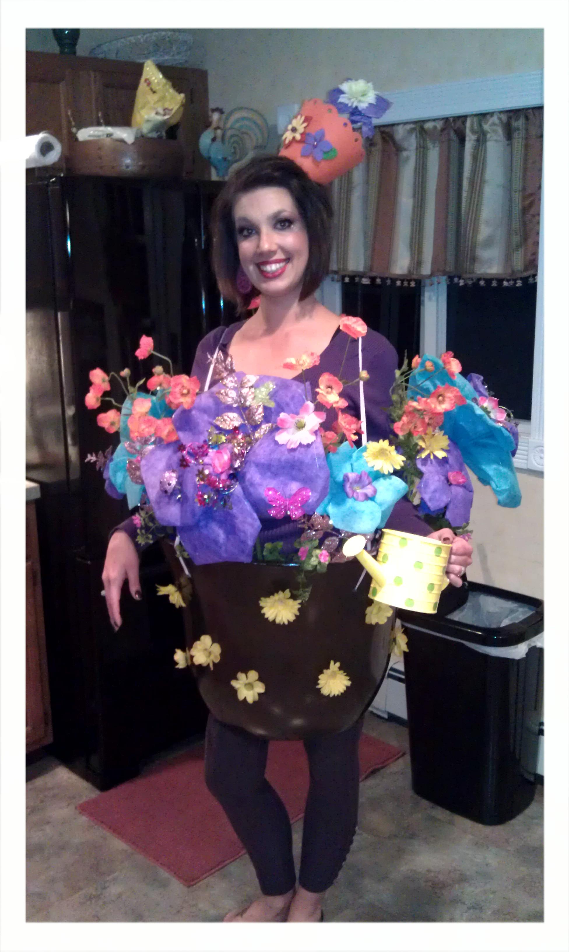 Adult flower halloween costumes photo 315